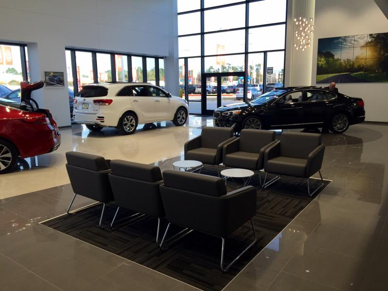 the wells group kia dealership furniture for gallery and cbs programs. Black Bedroom Furniture Sets. Home Design Ideas